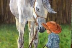 Christine-Brewwin-Horse-with-boy