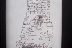 grace-Dieu-chimney-ruin-Brenda-Wheatfield
