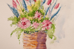 flowers-in-cane-basket-by-Penny-Clay