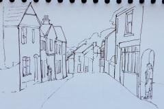 Street-in-Totnes-by-Marie-MacAlister