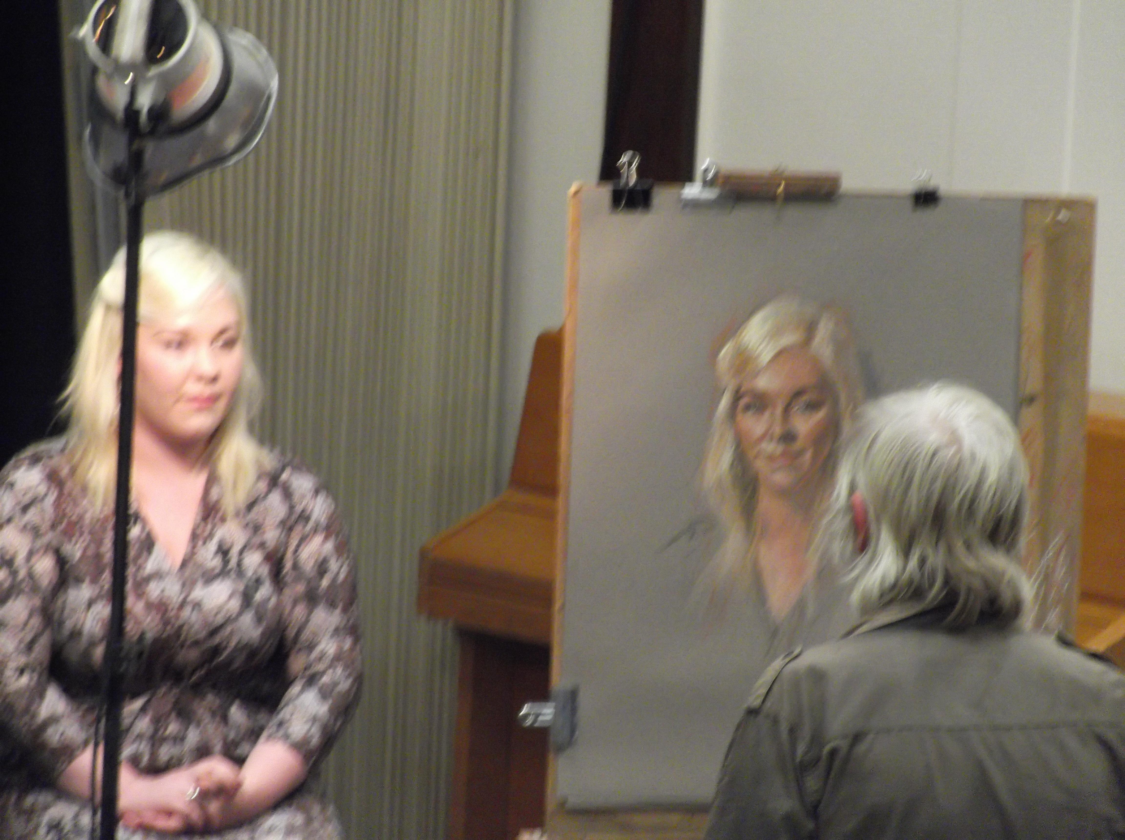 Rob Wareing Pastel Portrait