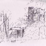 Ashby Castle Sketch