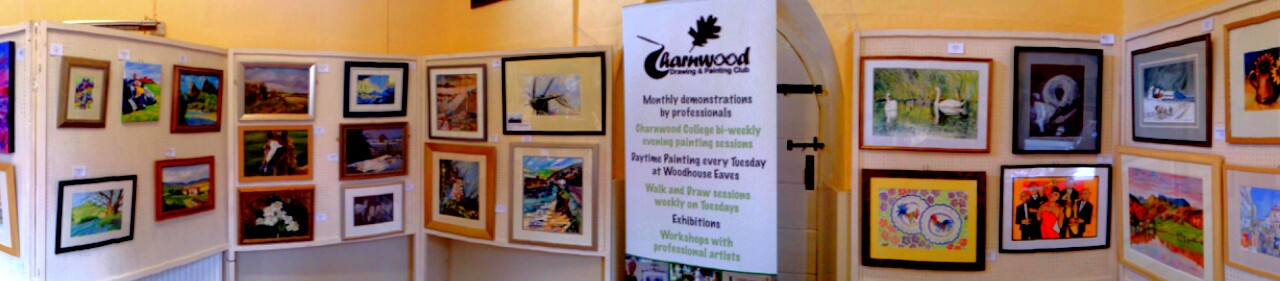 charnwood drawing and painting club exhibition