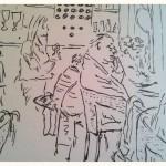 Pencil sketch Joy Lockton