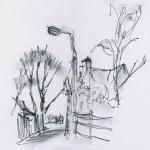 Albert Street Loughborough Sketch
