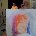Start of portrait Oils