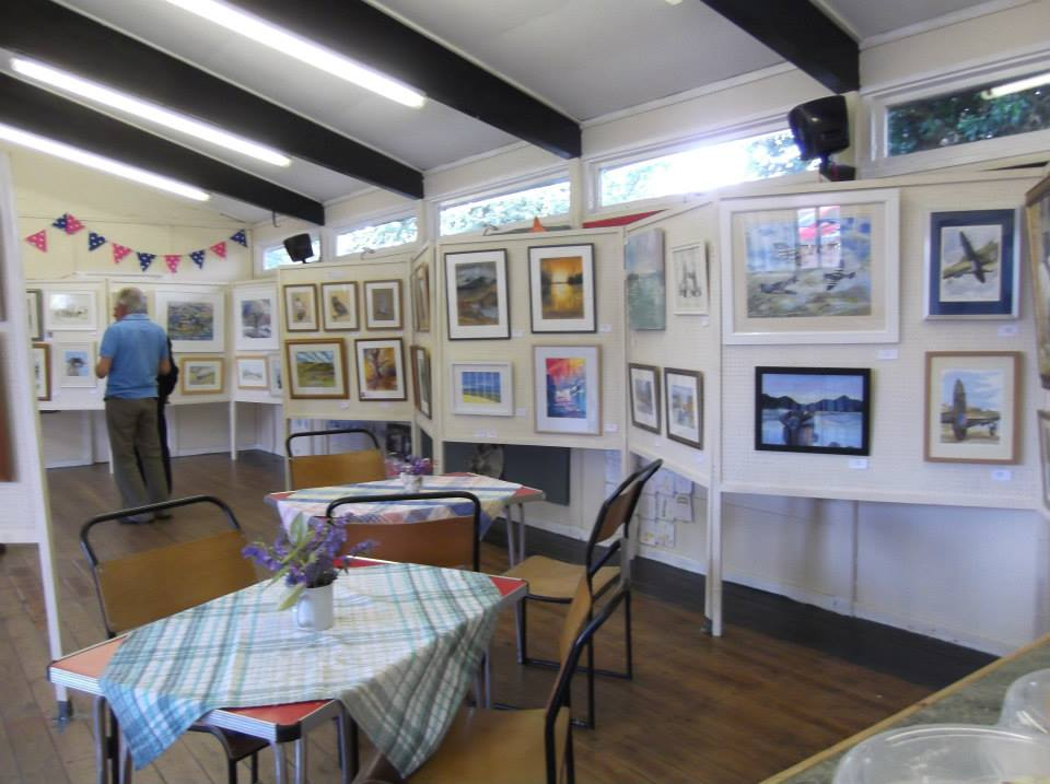 Charnwood Painting Club Summer Exhibition 2015
