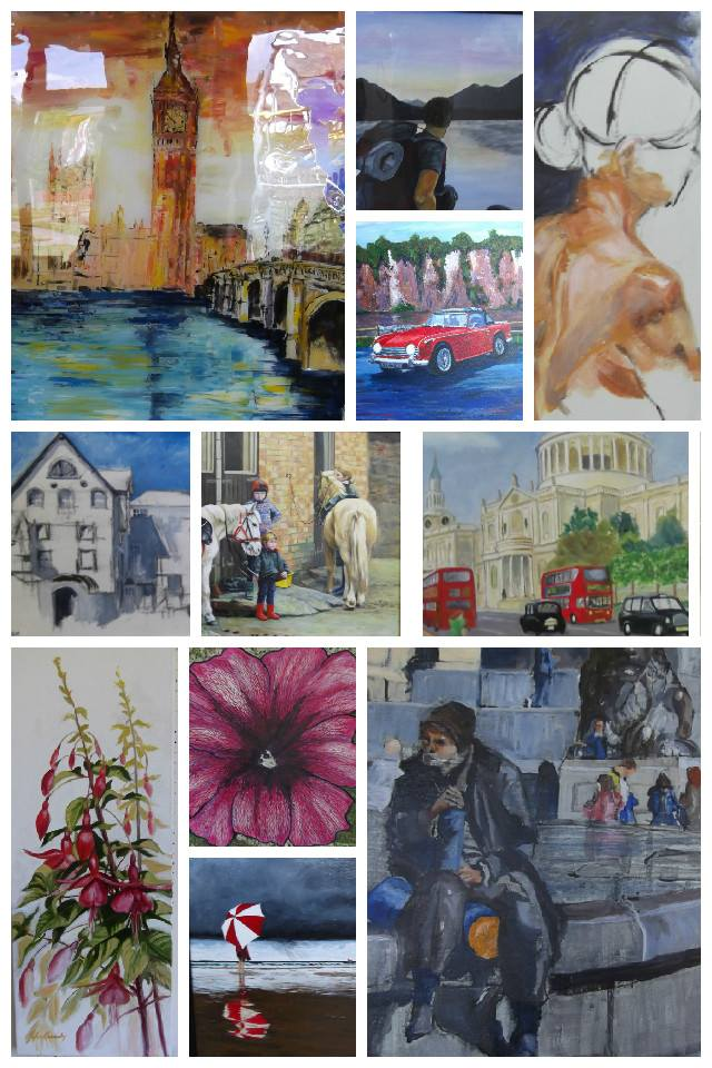 Charnwood Drawing and Painting Club Summer Exhibition 2015