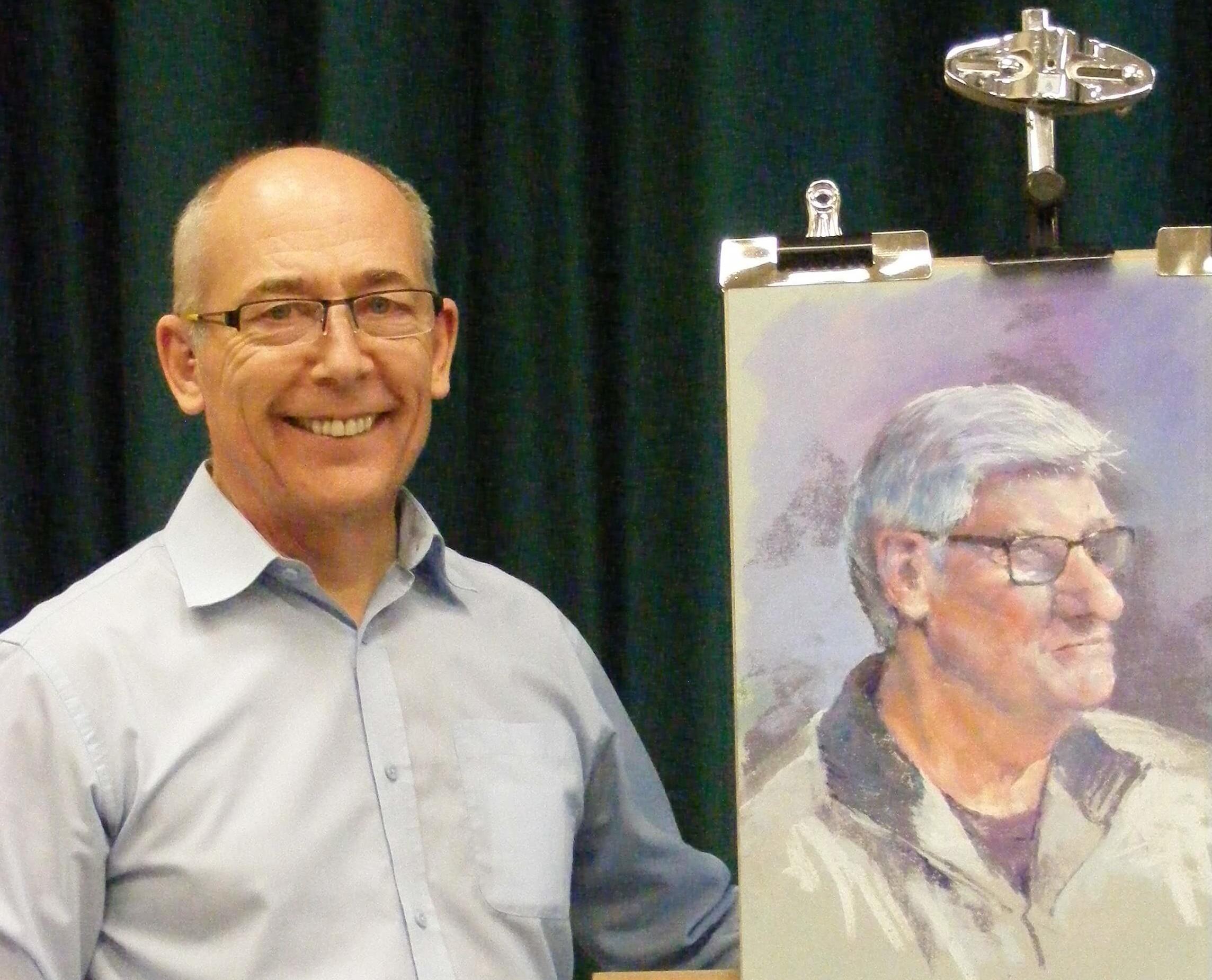 David Woolass pastel artist