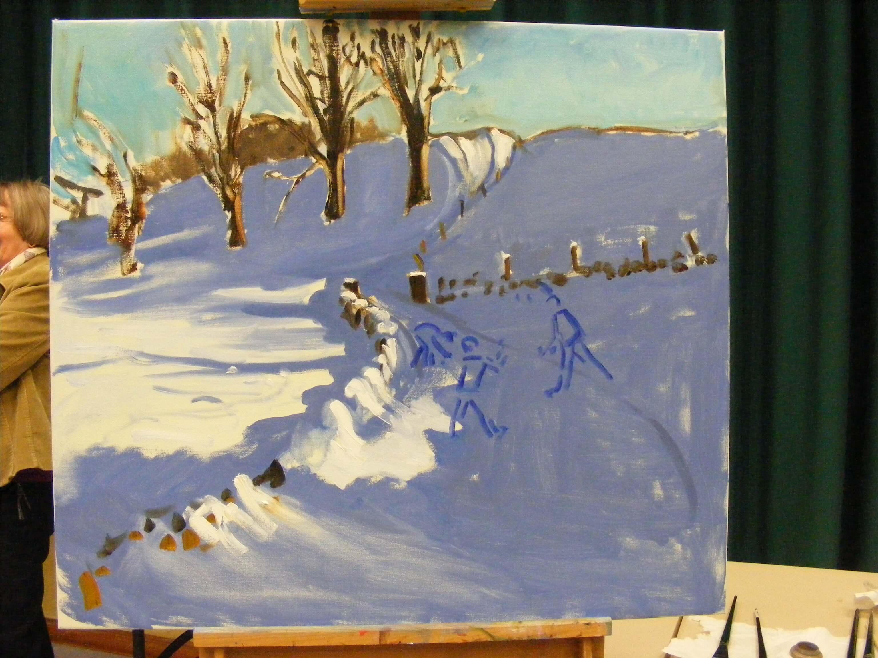 Andrew Macara Painting
