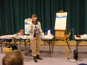 Sue Faulks demonstration