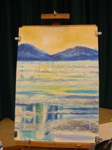 Sue Faulks Acrylic painting