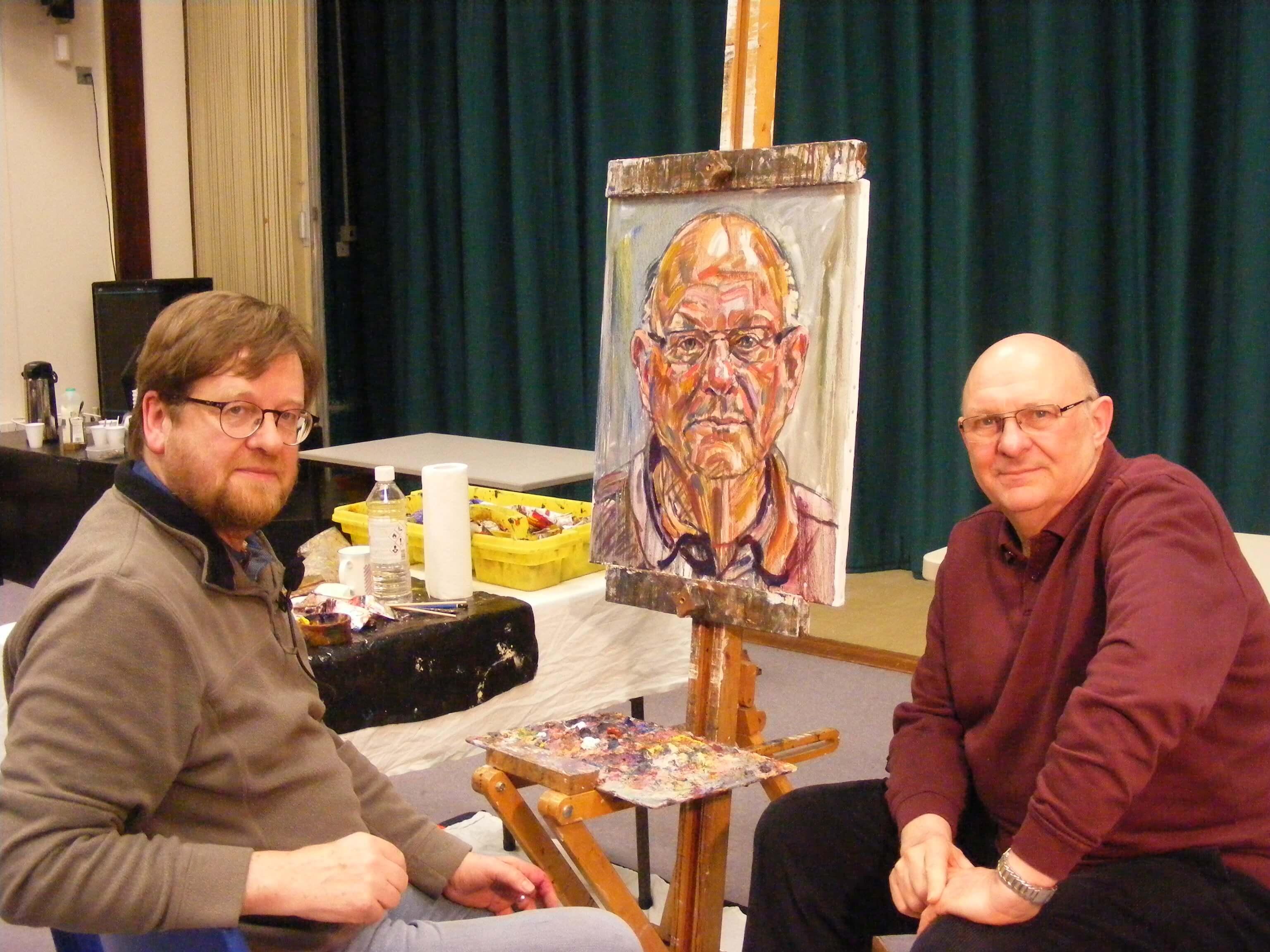 Stephen Ashurst Oil Portrait