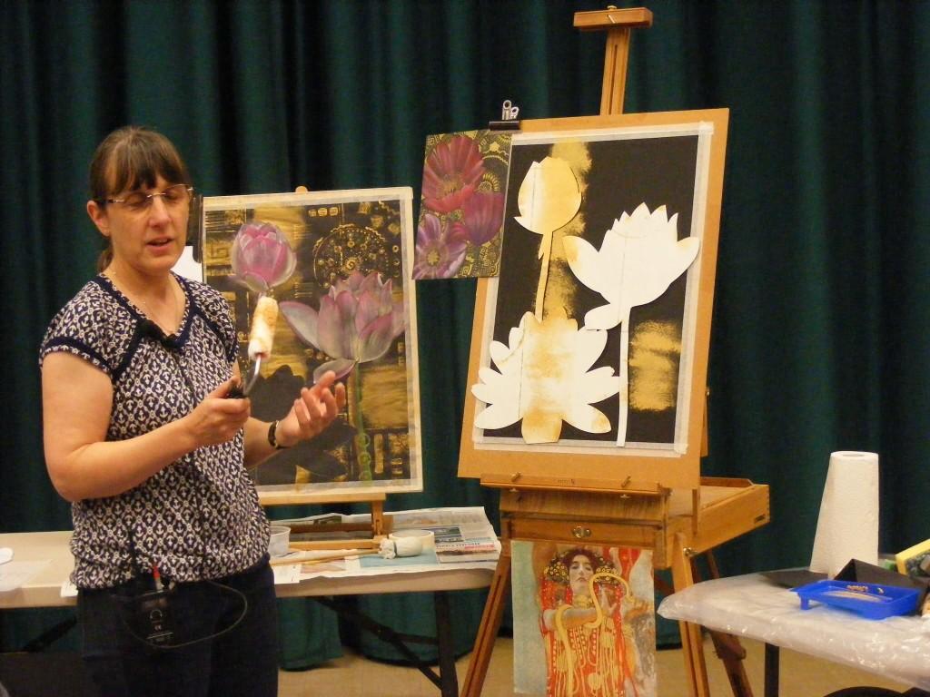 Sue Faulks demo October 2016 painting