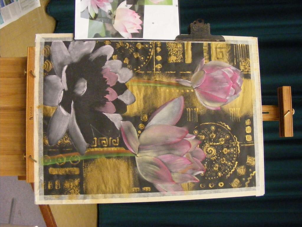 Sue Faulks demo October 2016 flowers