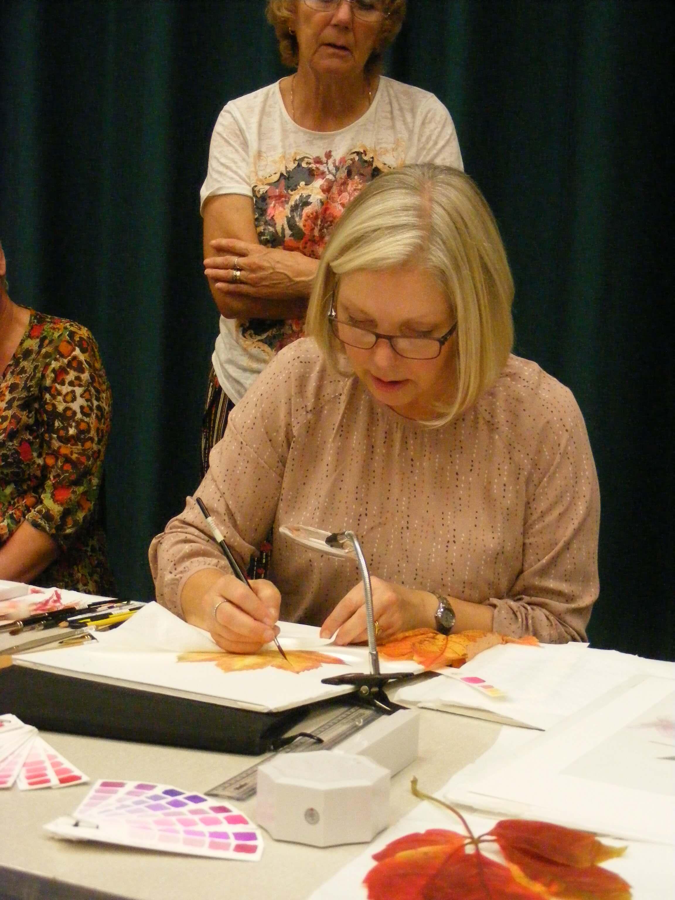 Jenny Neale demonstration