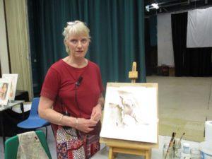 Sue Chatterton watercolour wildlife painting